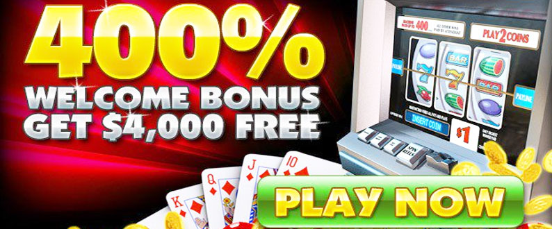 welcome Bonuses 400%