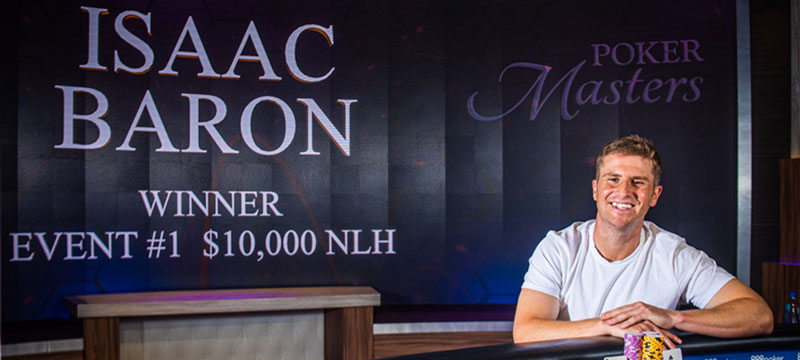 Isaac Baron Becomes Champion of Poker Masters